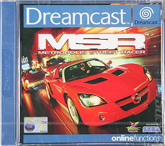 Picture of Dreamcast, Metropolis Street Racer