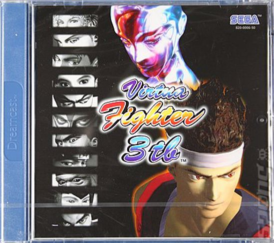 Obrazek Dreamcast Virtua Fighter 3tb