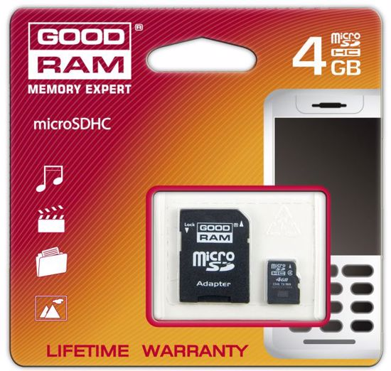 Picture of Goodram micro SDHC 48GB C4